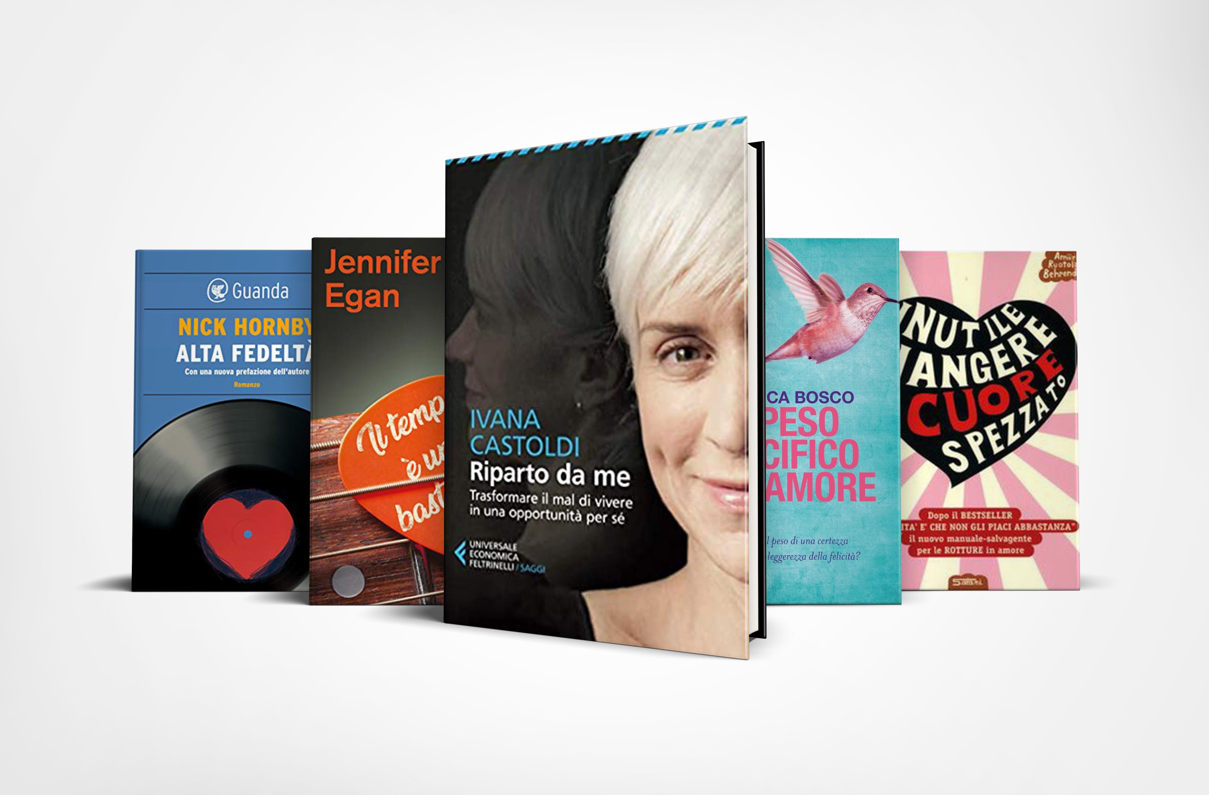 10 libri da leggere per superare una rottura sentimentale
