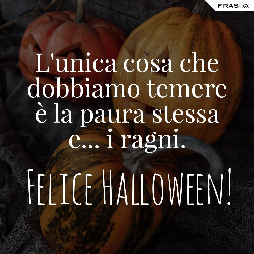 Buon Halloween frasi belle