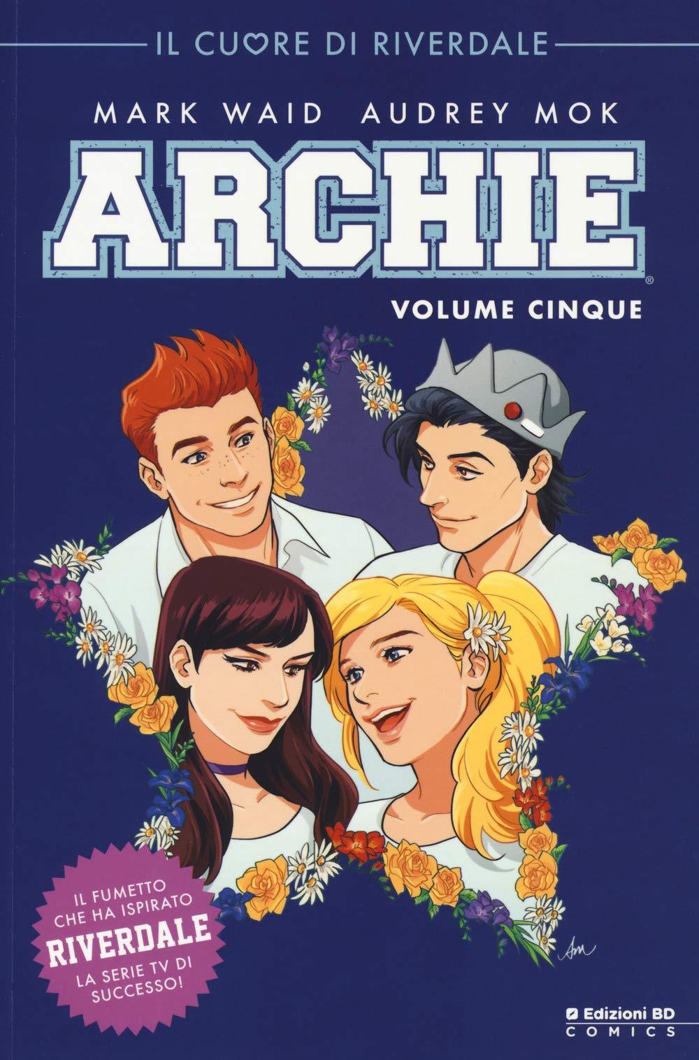 La copertina italiana del quinto volume di Archie