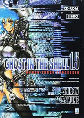 Ghost in the shell 1.5 human-error processer. Con CD-ROM