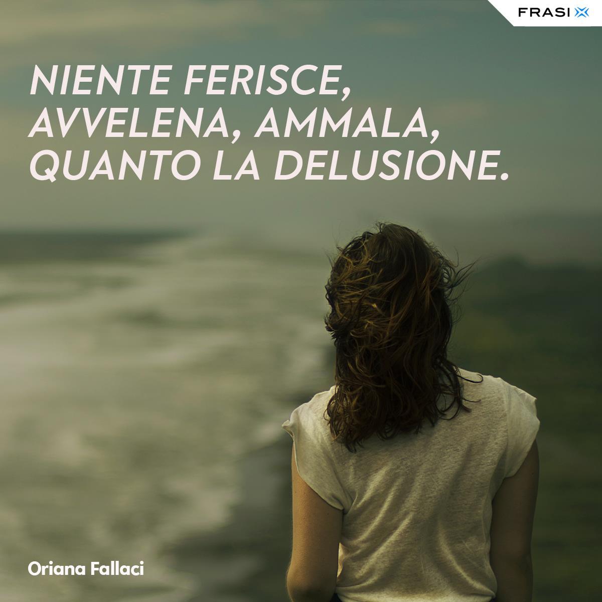 Frasi tristi e depresse Oriana Fallaci