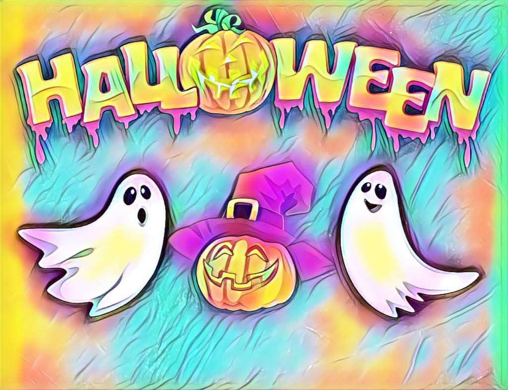 Immagine Halloween colorata