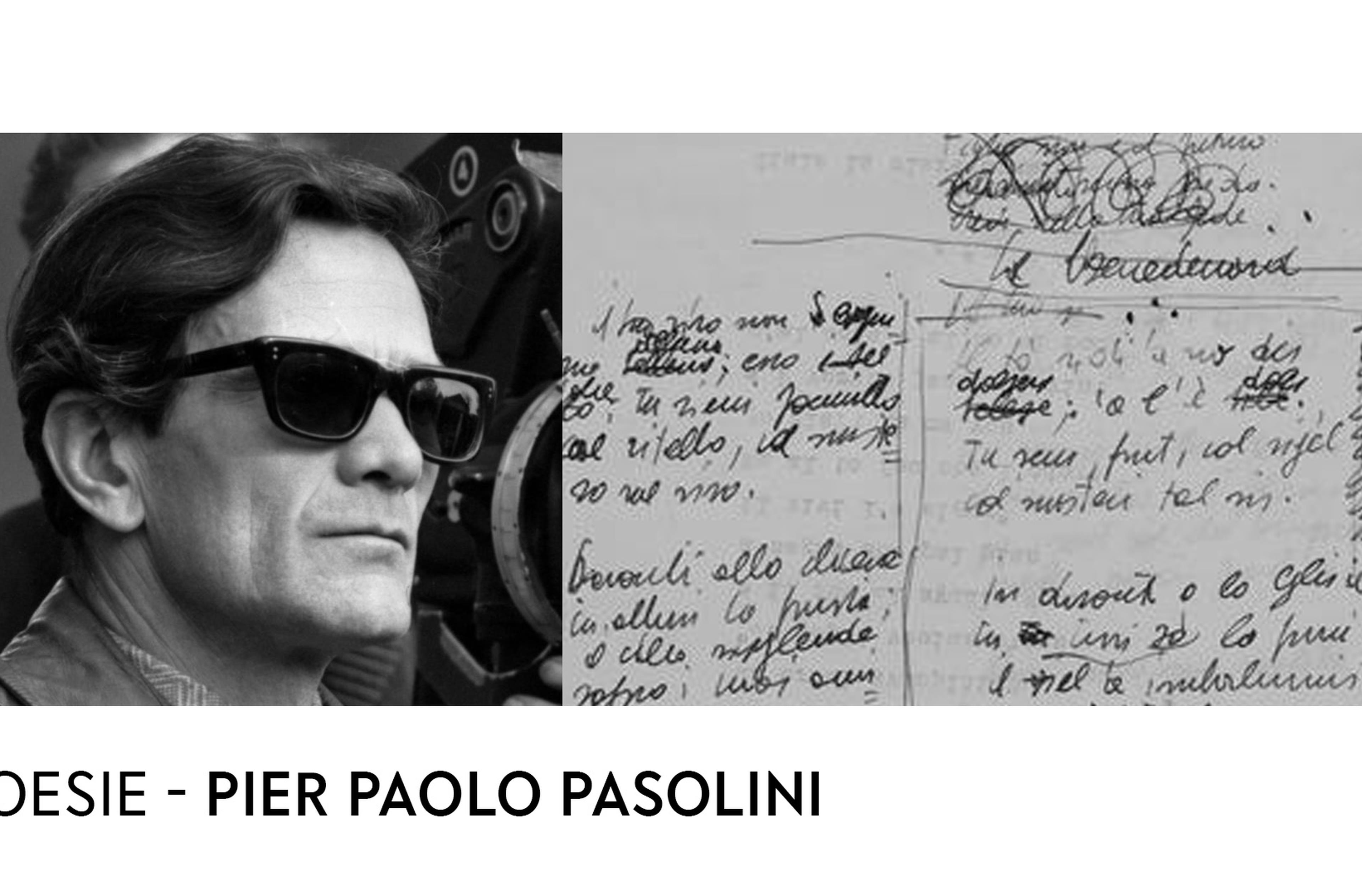 Copertina Pasolini poesie