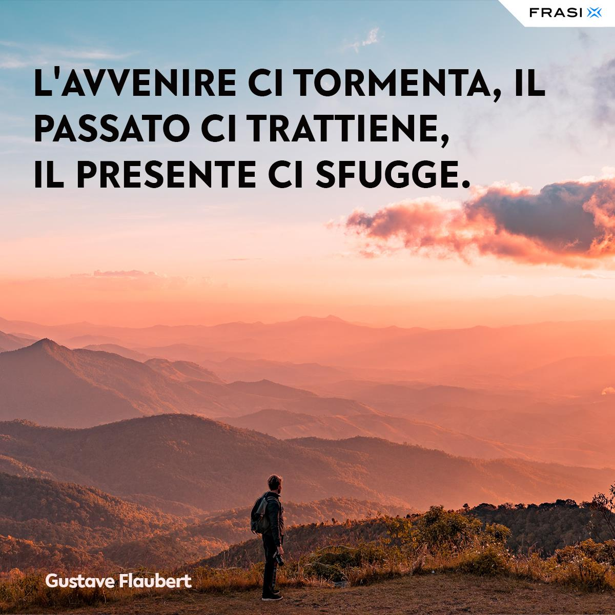 Frasi tempo post social Gustave Flaubert