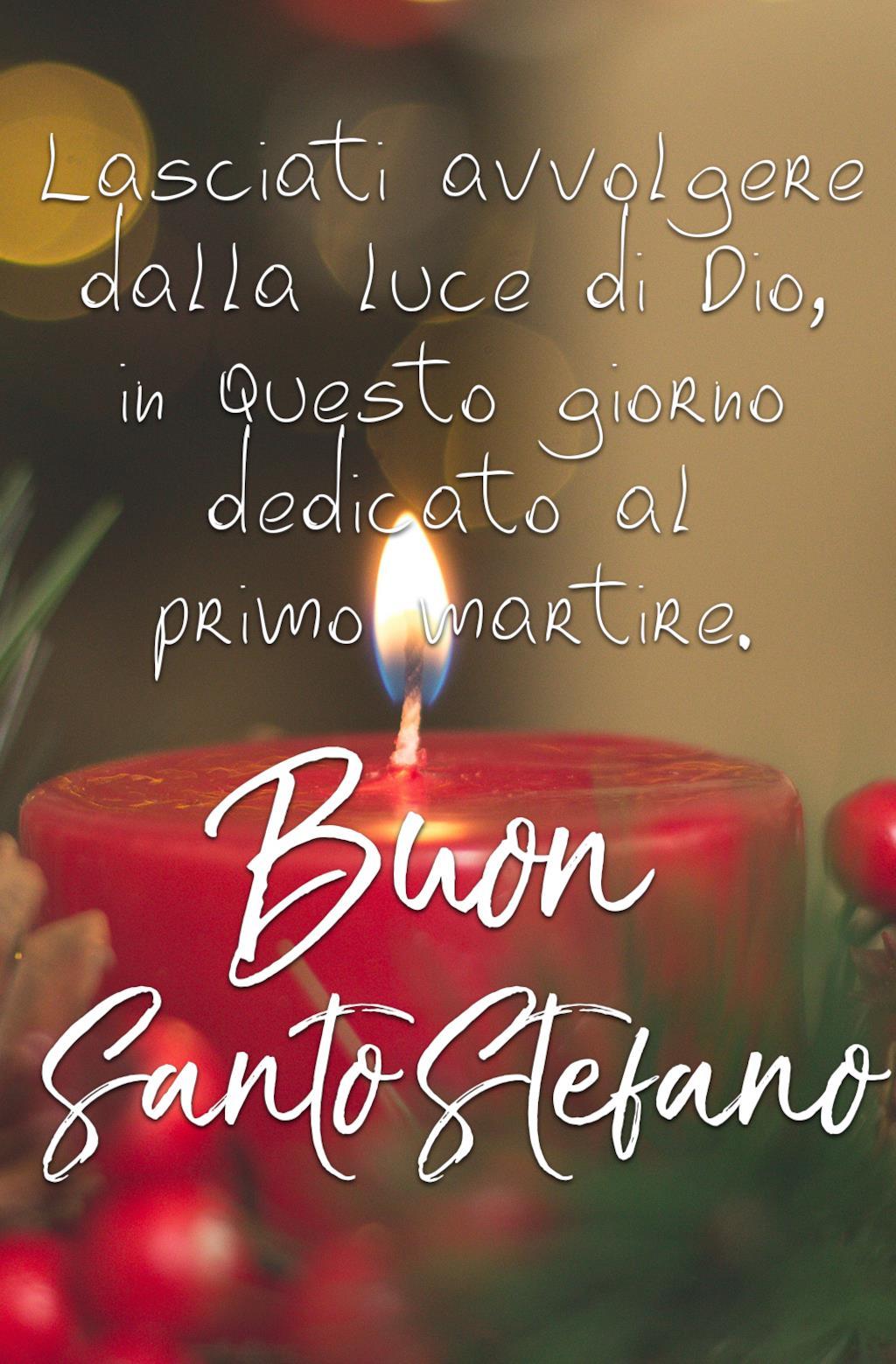 Buon Santo Stefano auguri religiosi