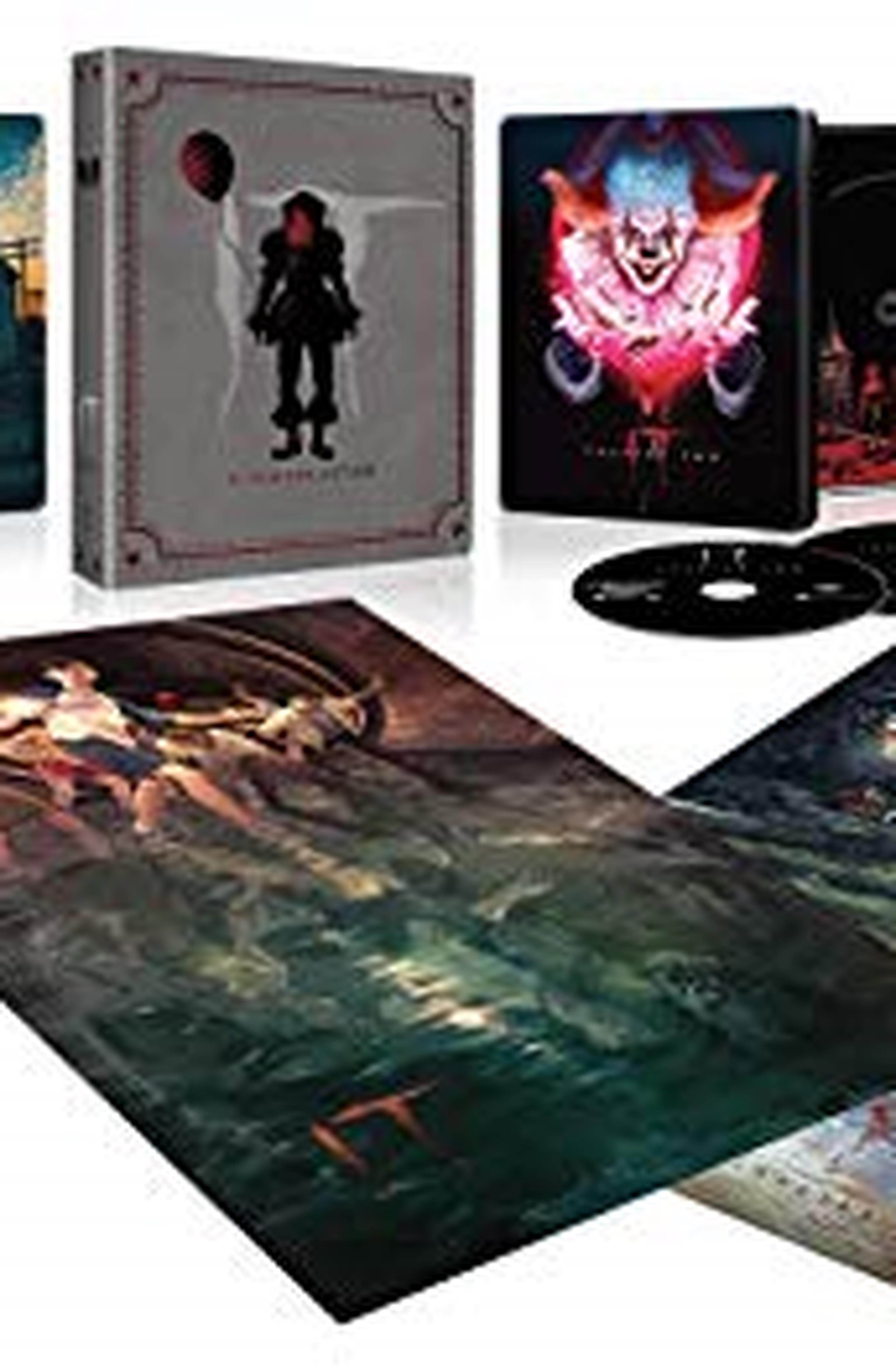 IT - 2 Film Collection - Steelbook Edition - 4K Ultra HD + Blu Ray (5 dischi)