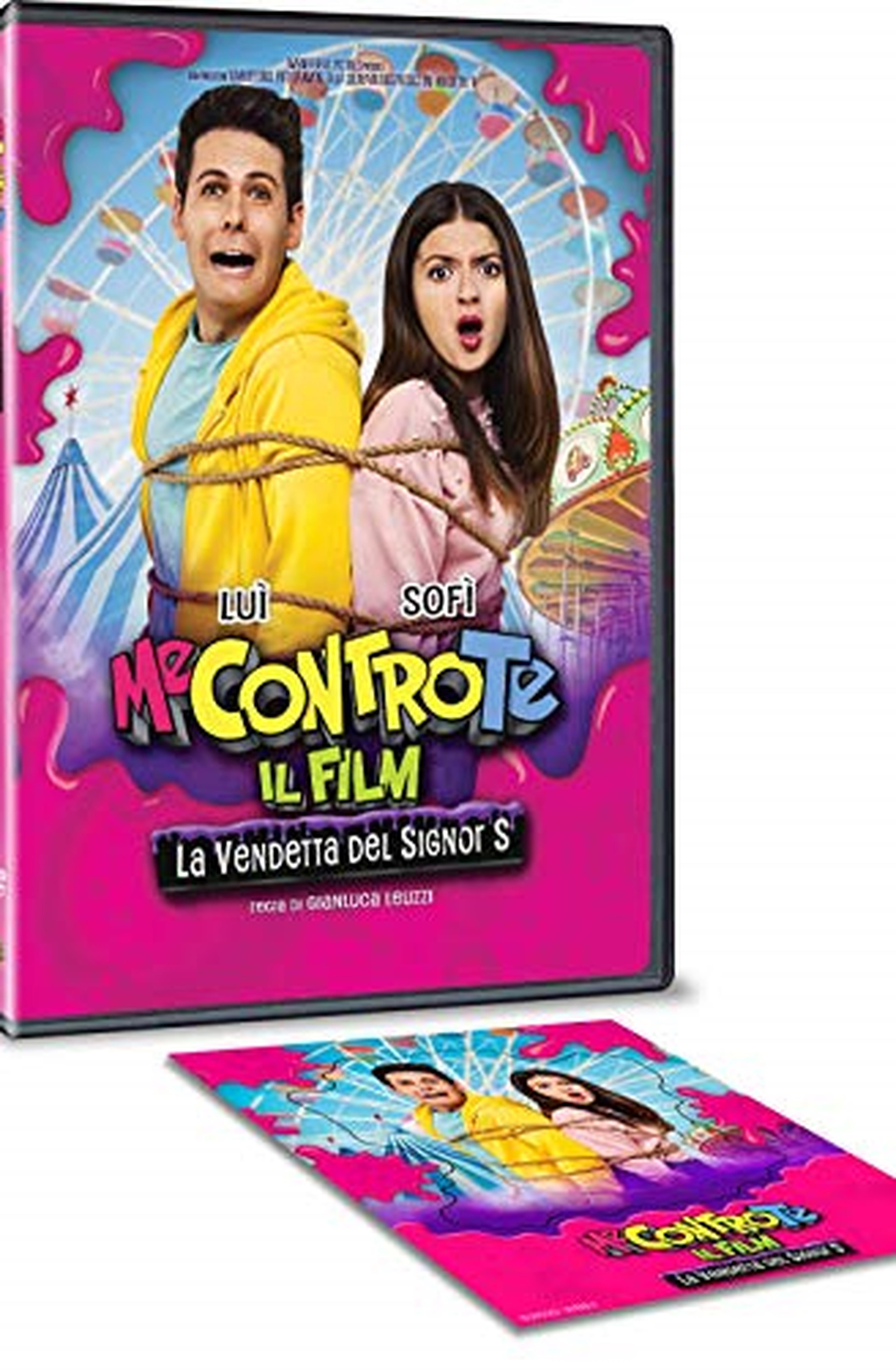 Me Contro Te Il Film - La Vendetta Del Signor S DVD + Cornice Magnetica