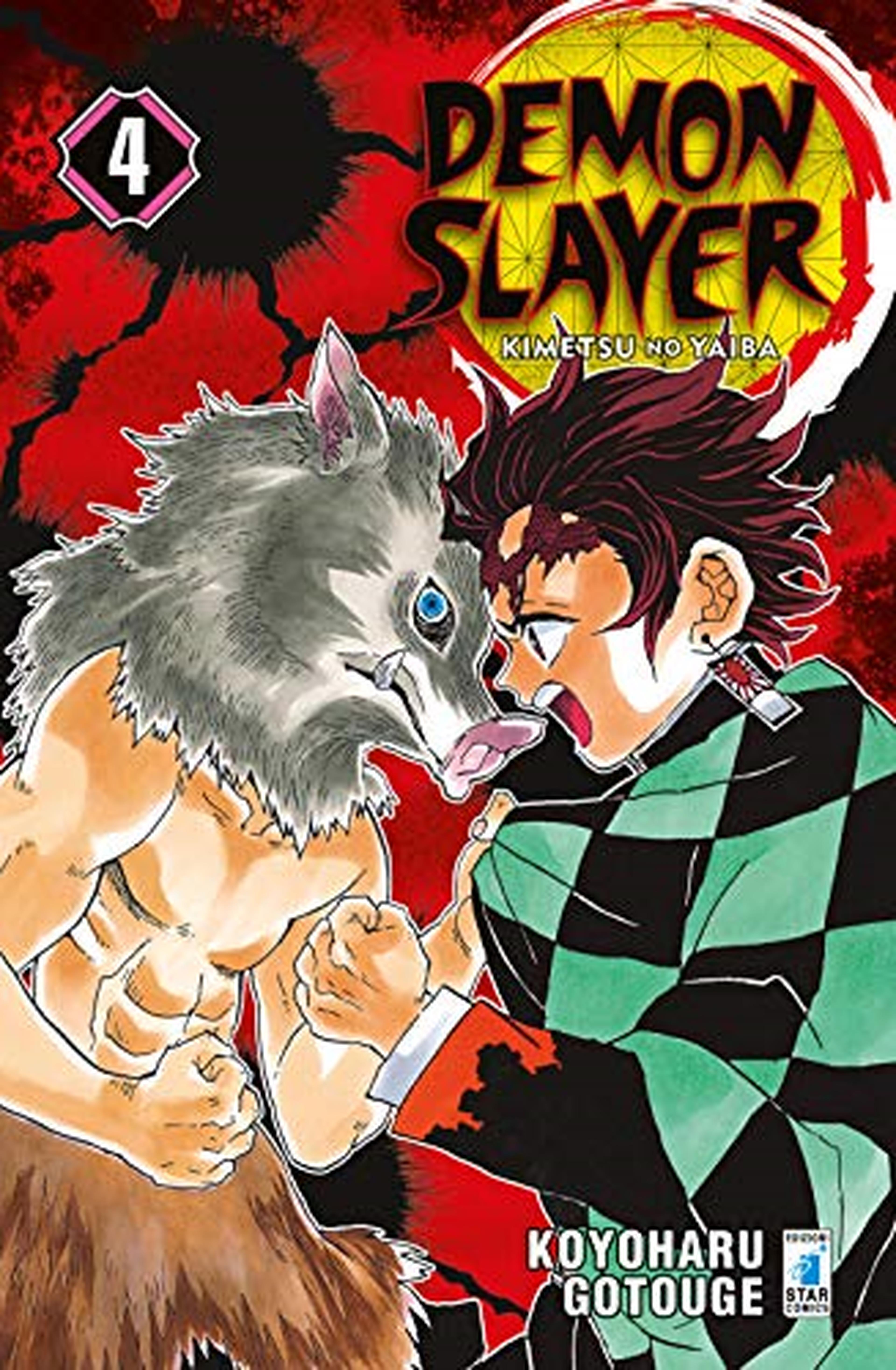 Demon slayer. Kimetsu no yaiba: 4