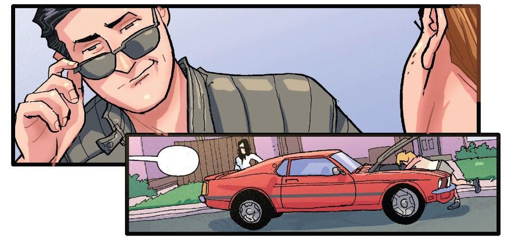 Reggie nota l'auto di Archie e lancia una sfida
