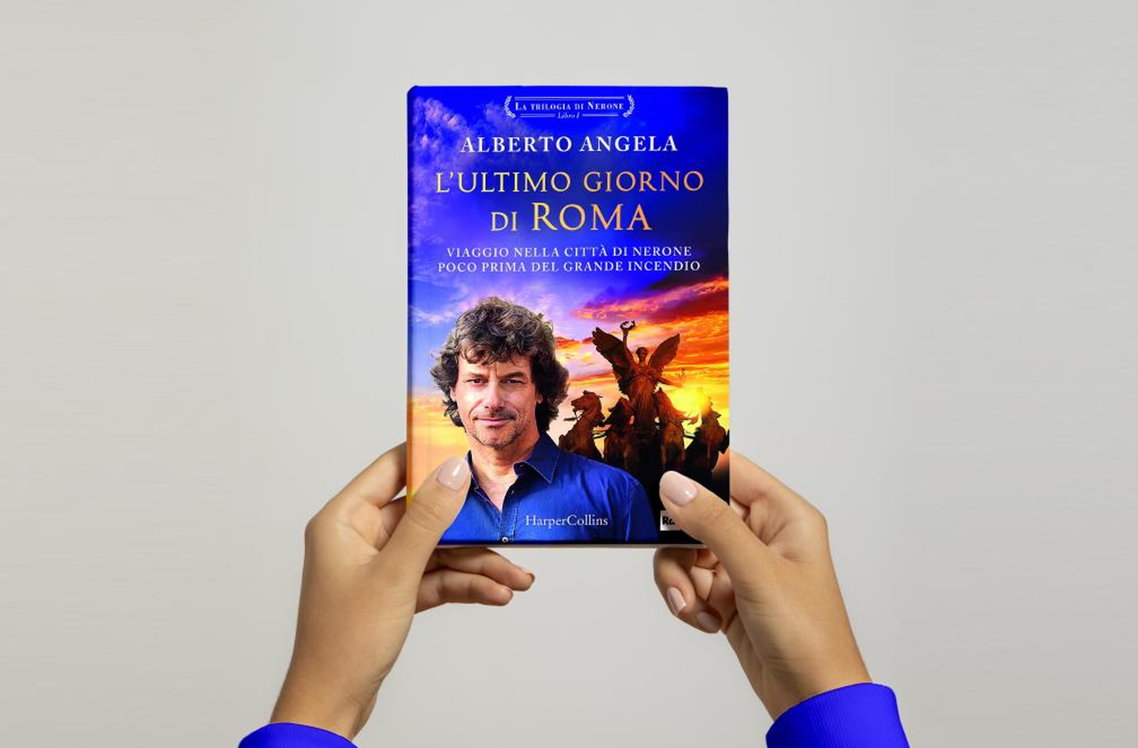 La copertina de L'ultimo giorno di Roma