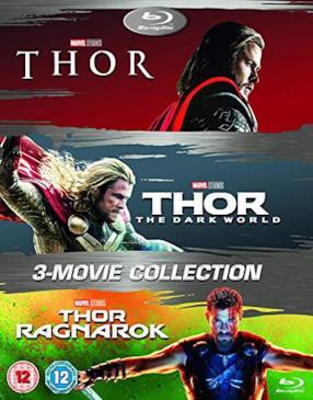 Thor 1-3 Box Set (3 Blu-Ray) [Edizione: Regno Unito]