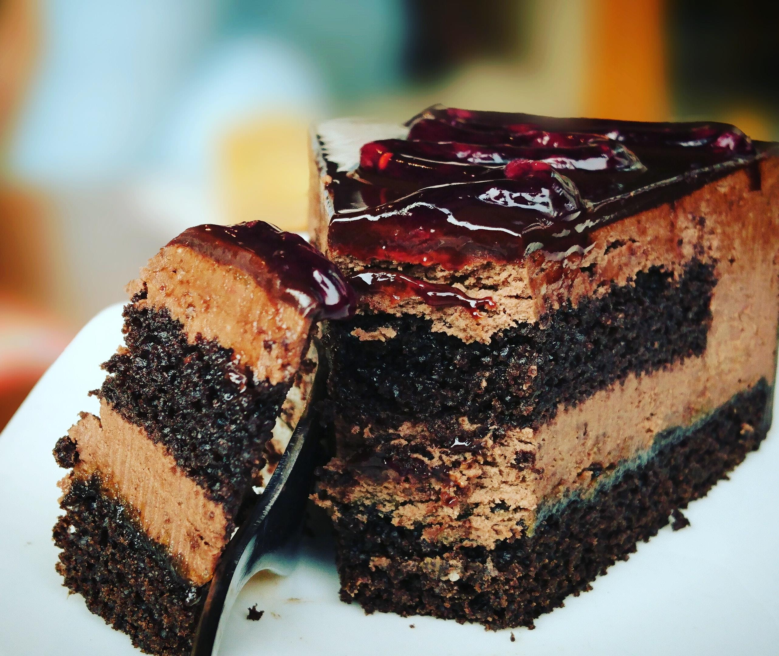 Copertina frasi sulle torte al cioccolato
