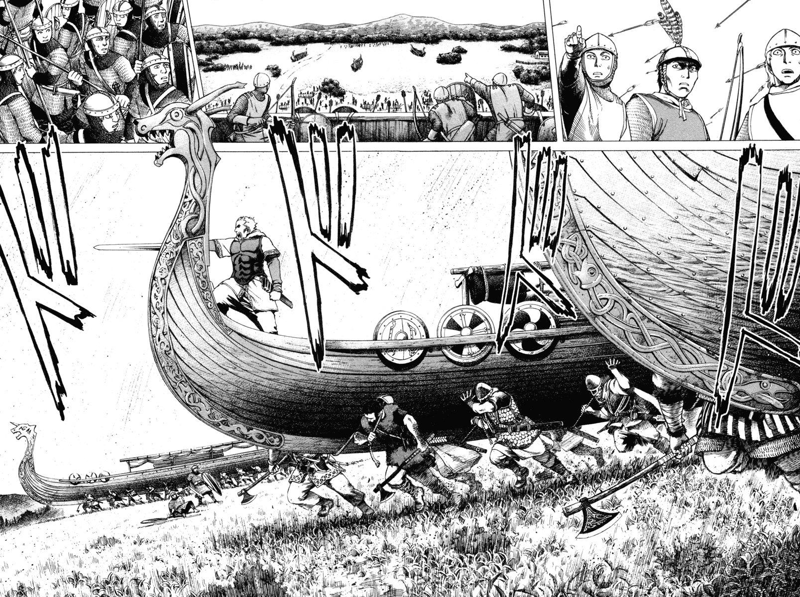 Vinland Saga storia vichinghi