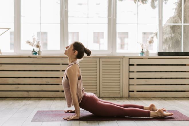 La posizione yoga del Urdhva Mukha Svanasana