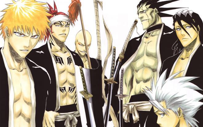 Bleach shonen manga