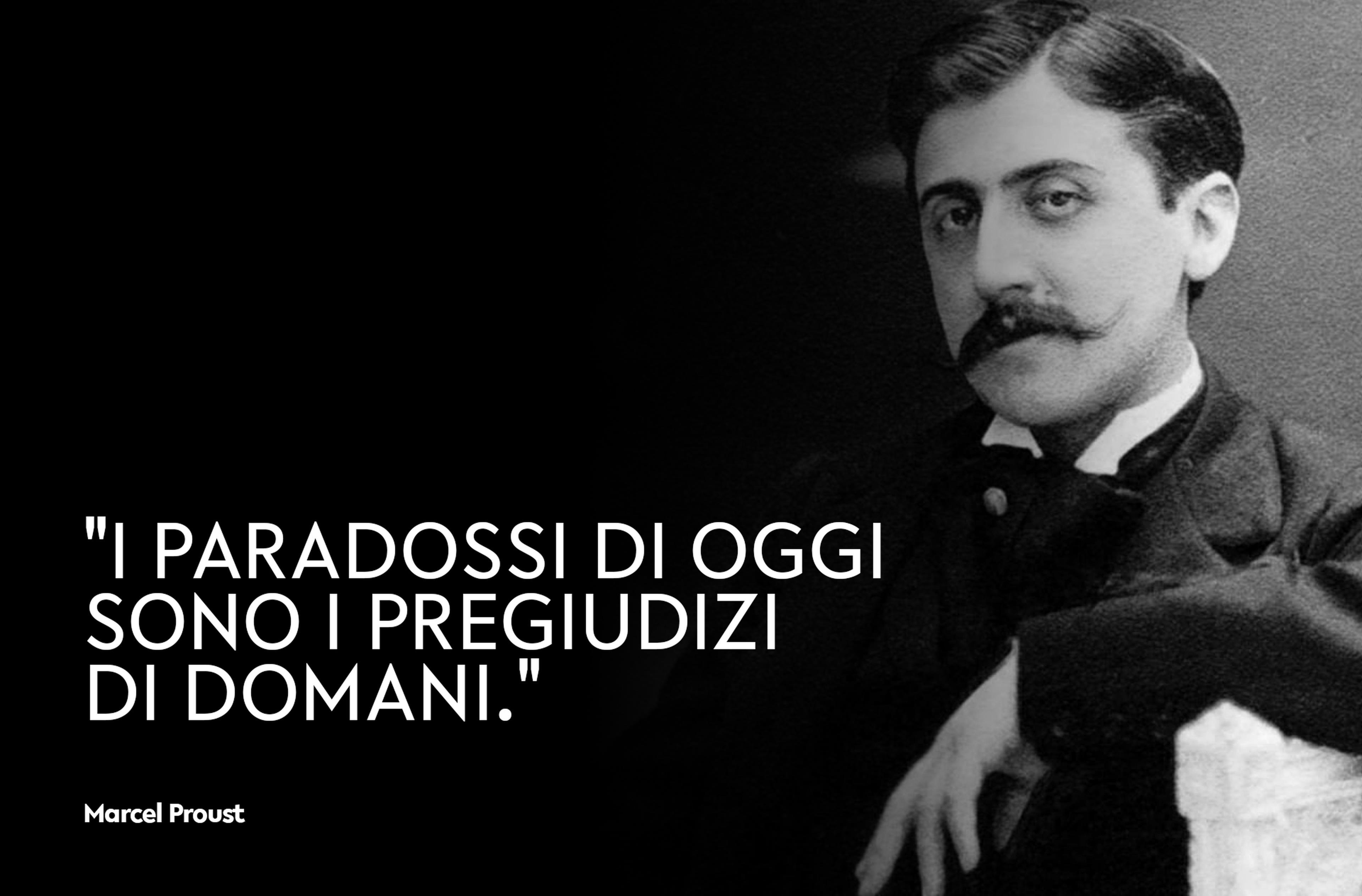 Copertina Marcel Proust