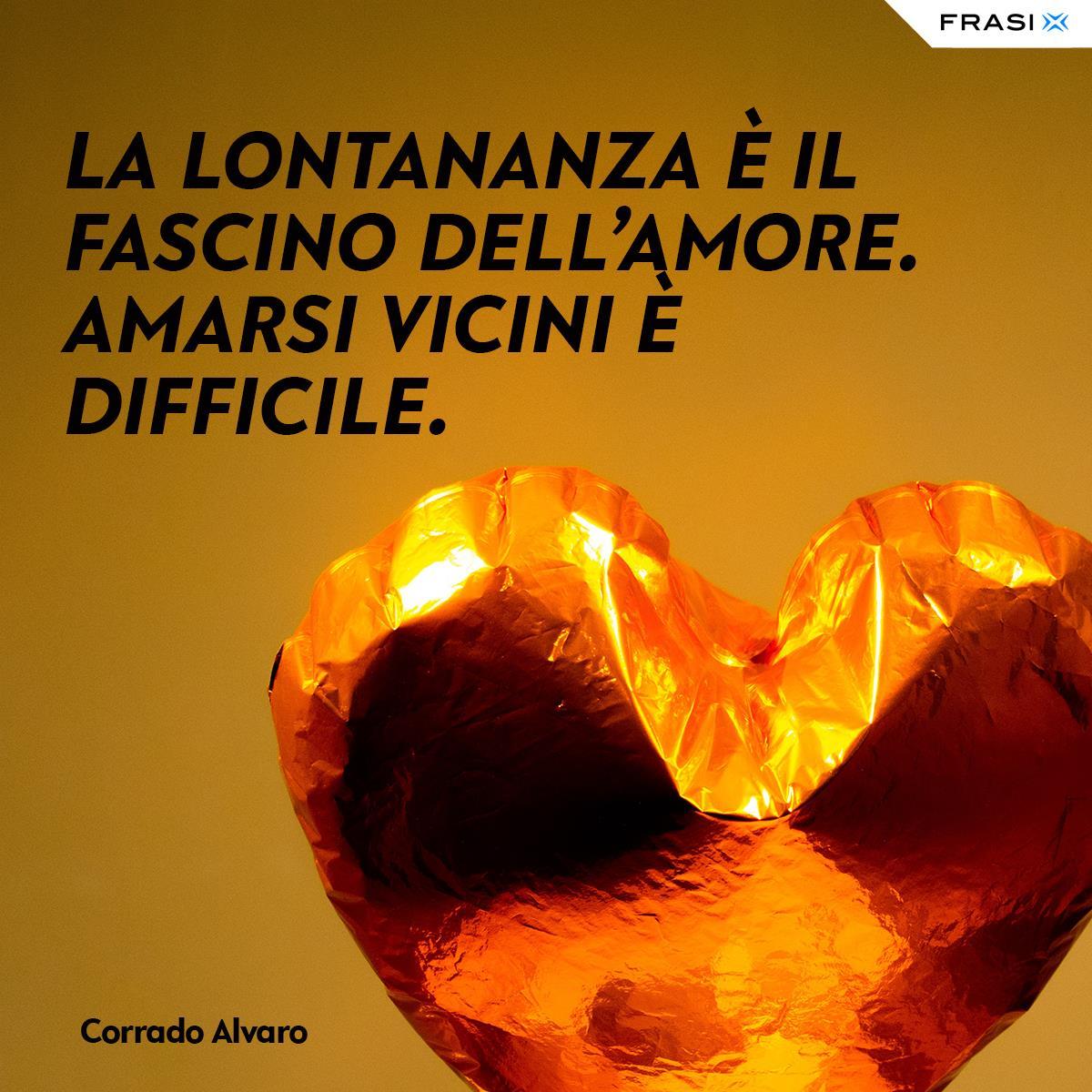 Aforismi d'amore sulla lontananza Corrado Alvaro