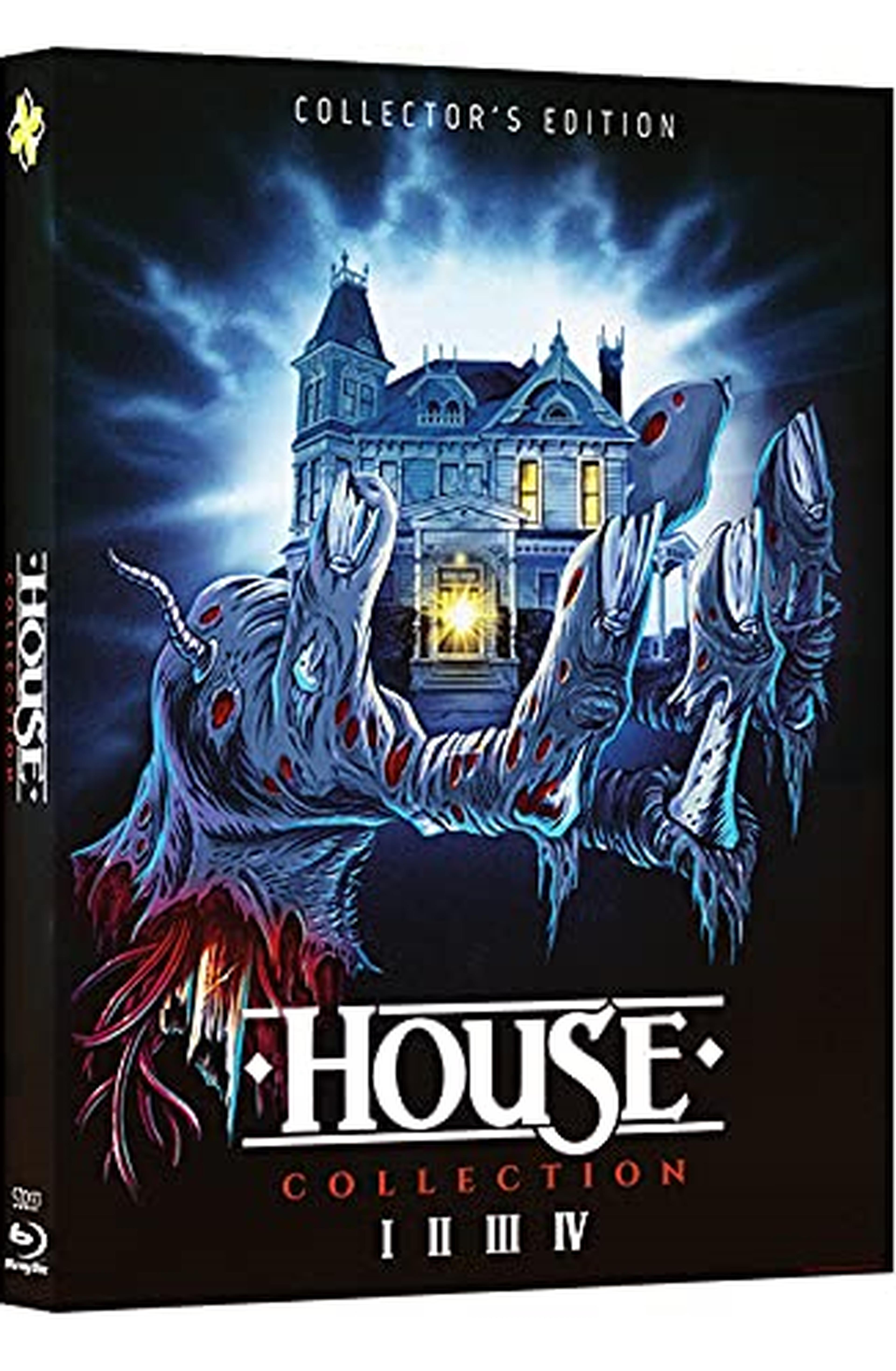 House Collection - Special Limited Edition (Slipcase 4 Blu Ray + 4 Cards)