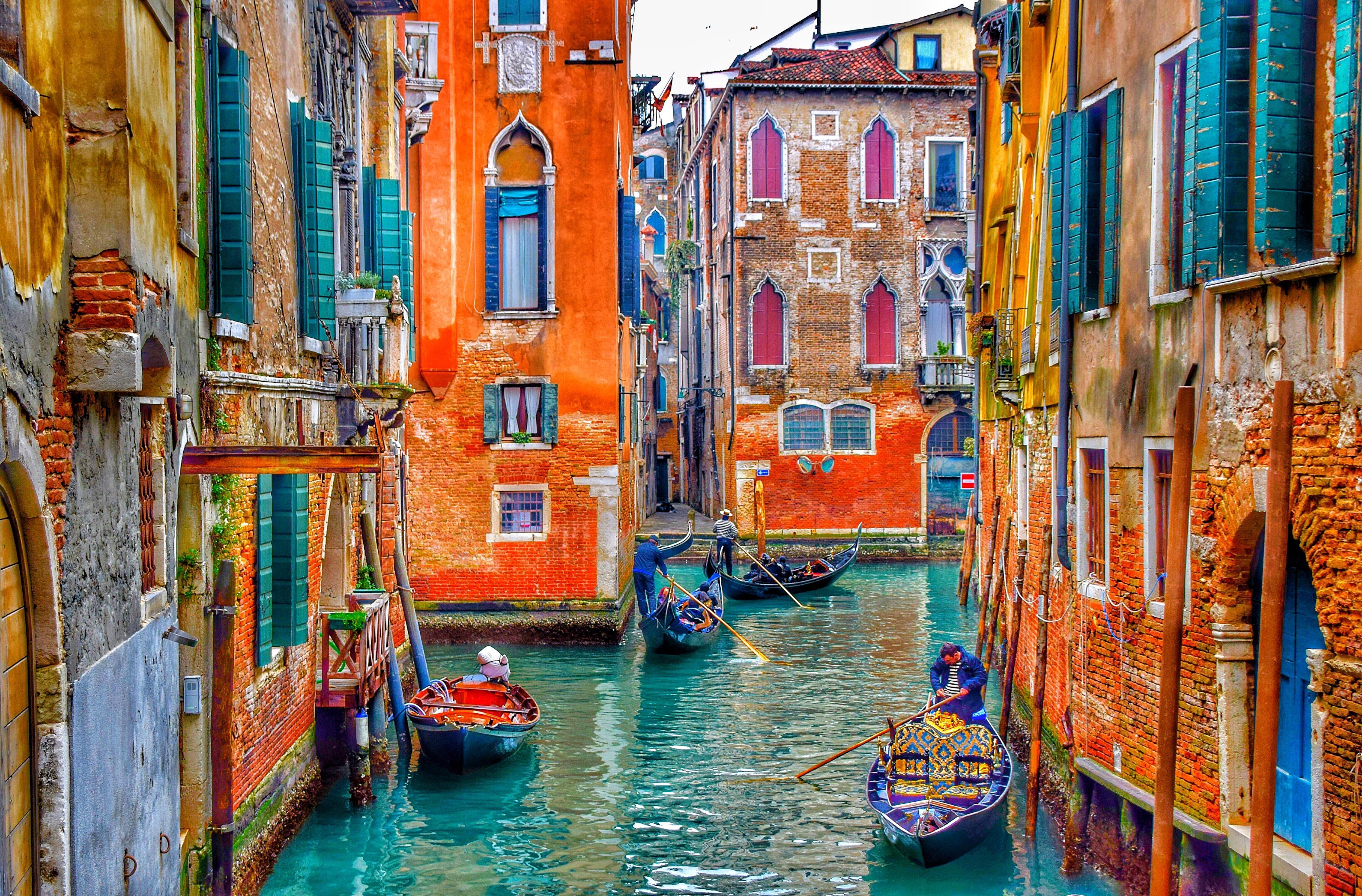 Uno scorcio di Venezia e dei suoi canali