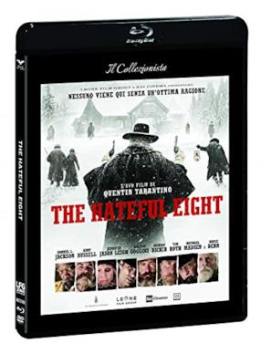 """The Hateful Eight """"Il Collezionista"""" Combo (Br+Dv) (Ltd Cal)"""