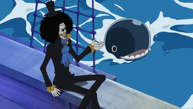 One Piece Brook e Lovoon