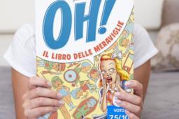 Particolare della copertina di Oh! Il libro delle meraviglie