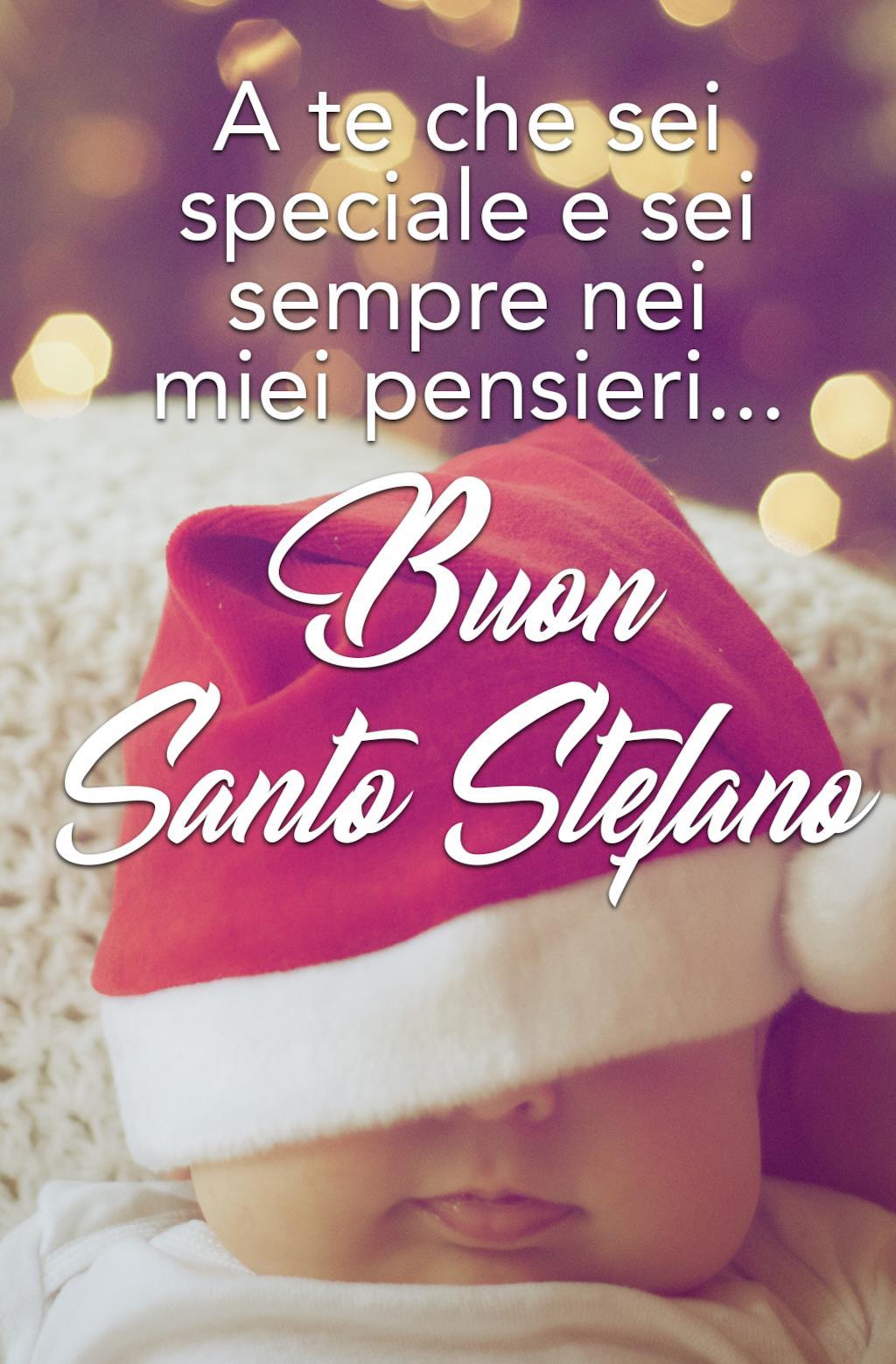 Buon Santo Stefano auguri speciali