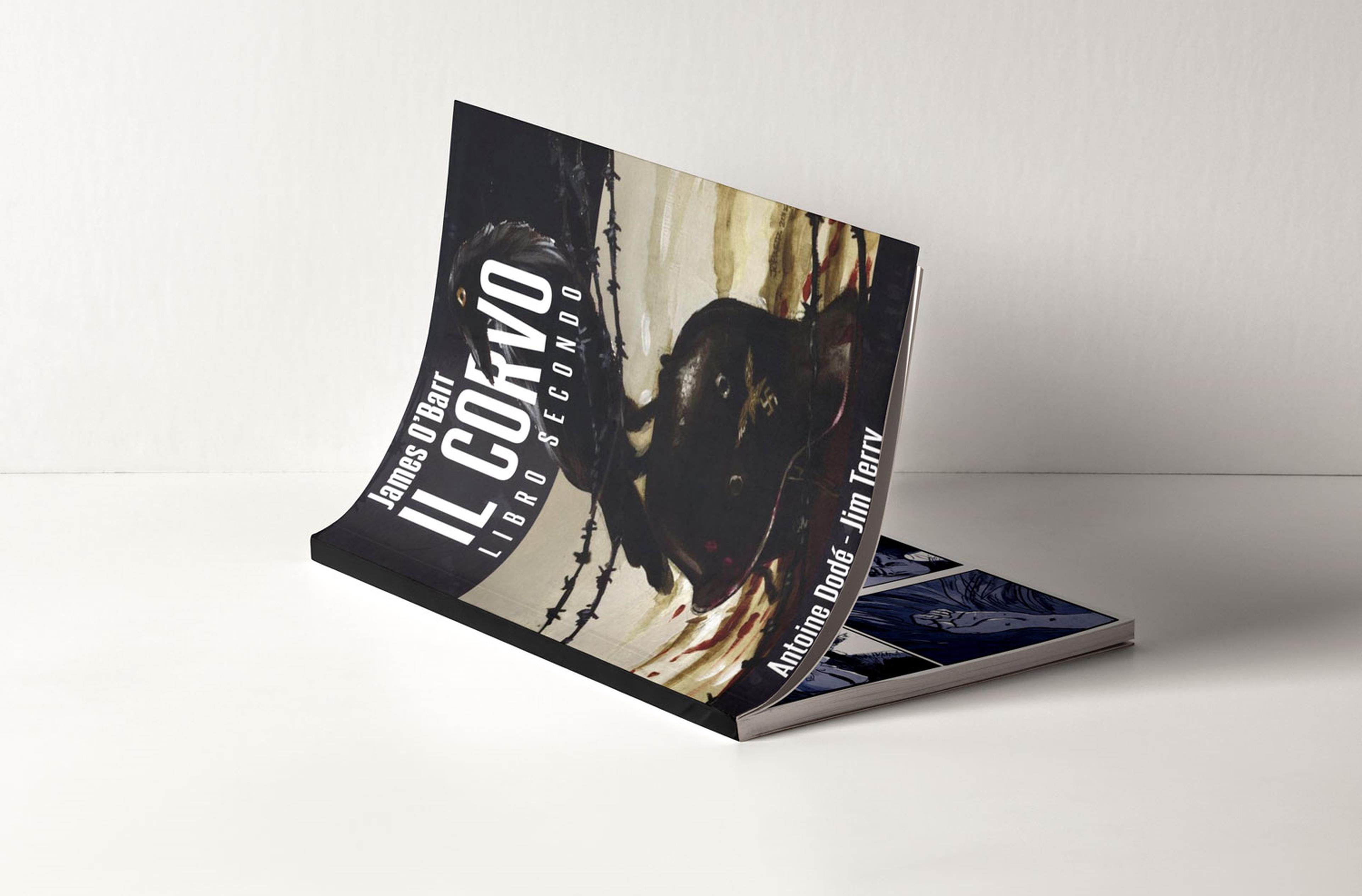 Cover di Il Corvo Libro Secondo Limited Edition