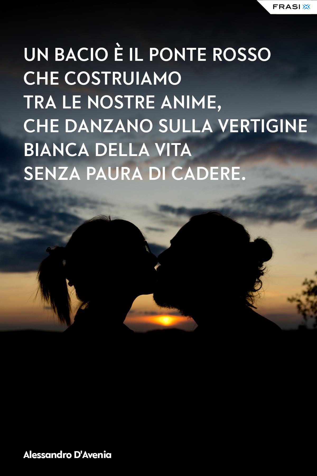 Frasi bacio ponte rosso Alessandro D'Avenia