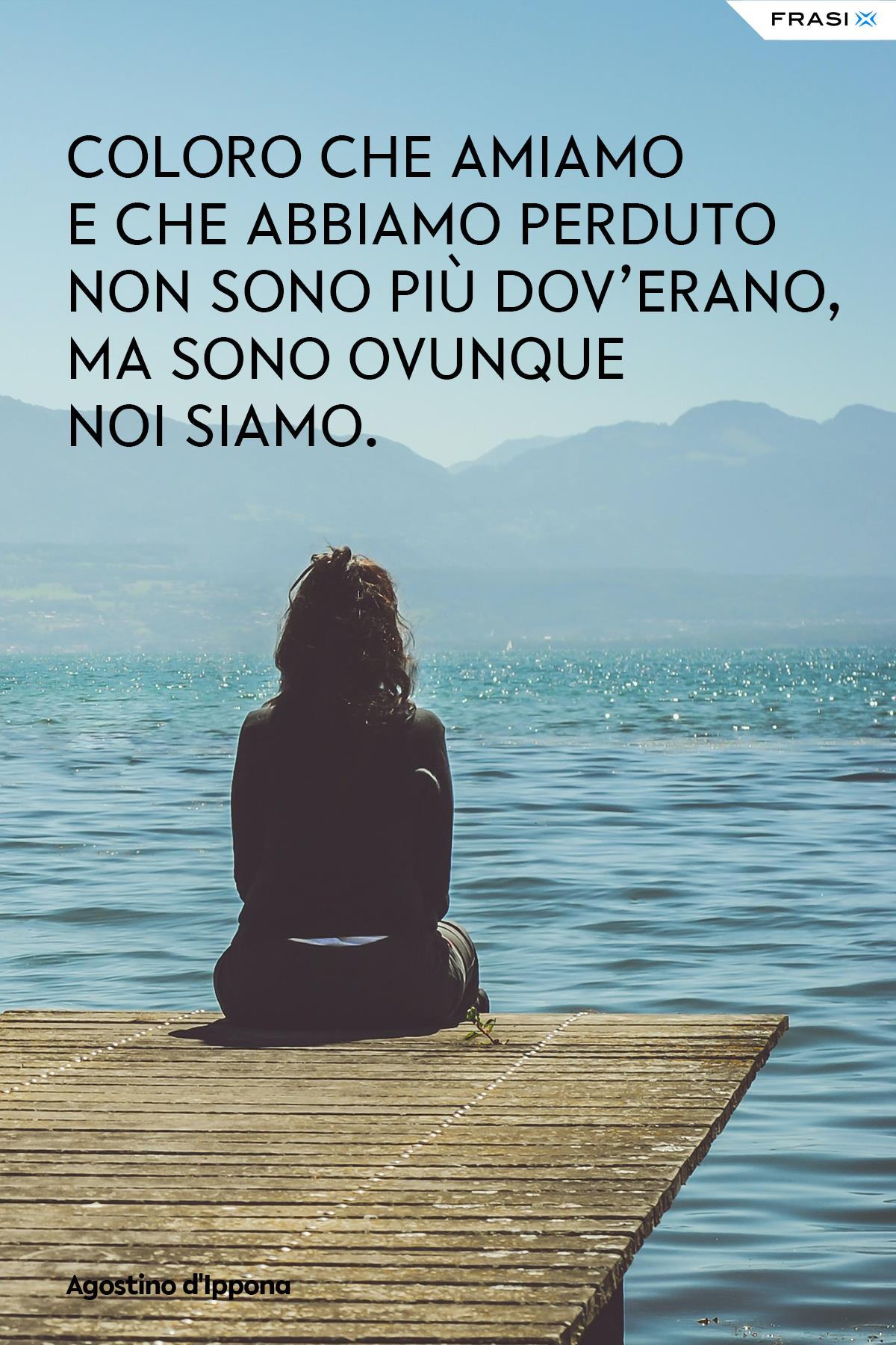 Frasi depresse amore Agostino d'Ippona
