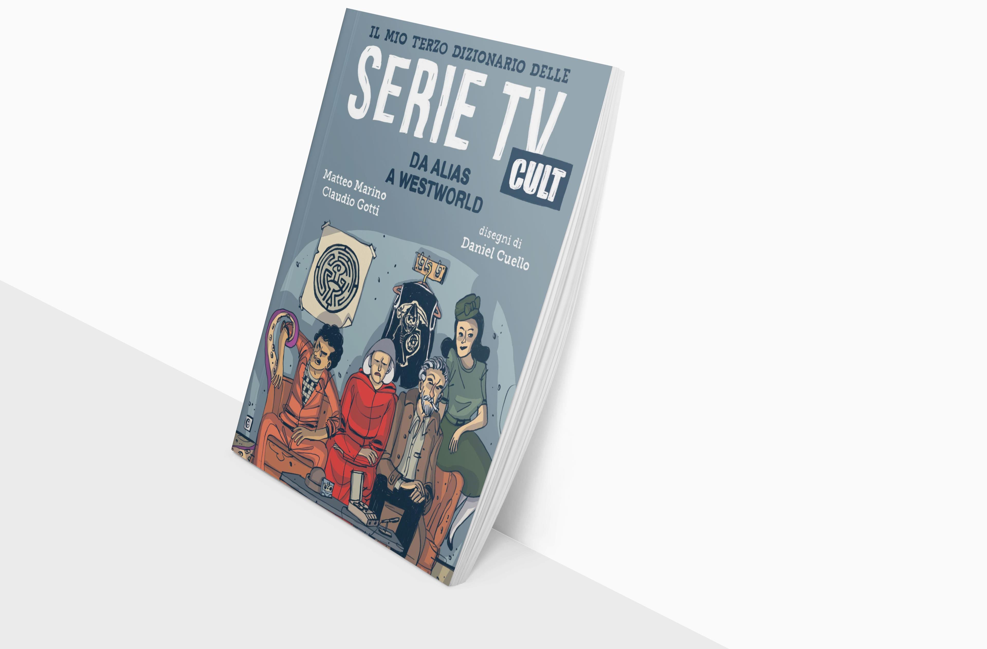 Alcune delle serie contenute nel Terzo Dizionario delle Serie TV Cult