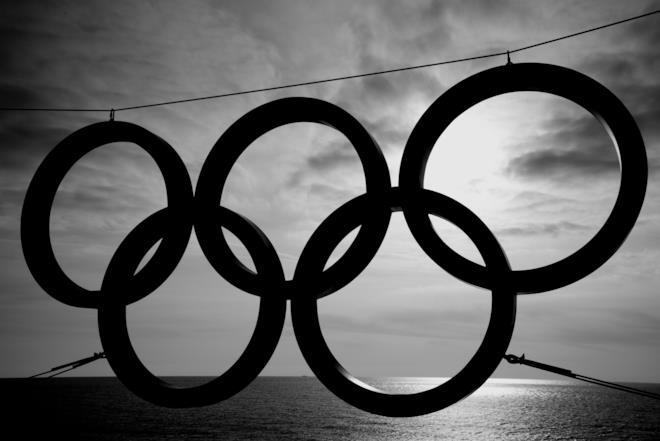 Copertina motto olimpico