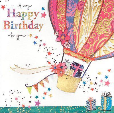 Una mongolfiera - Immagini di buon compleanno, le più simpatiche da scaricare gratis