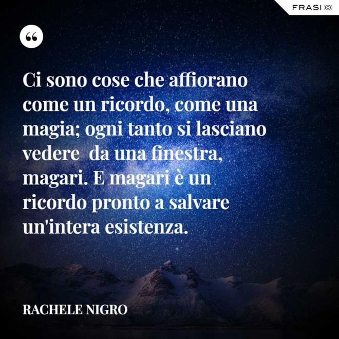 Frasi buonanotte inverno di Rachele Nigro