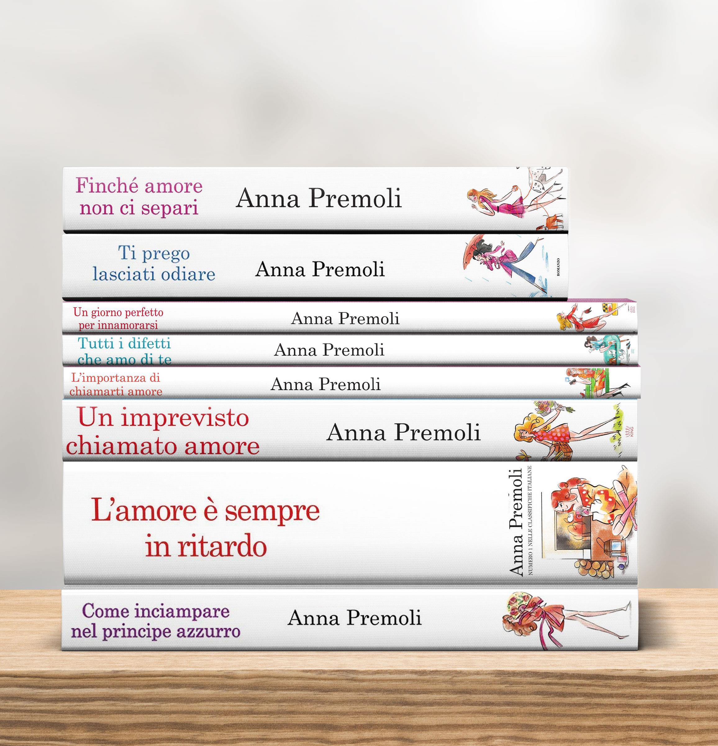 Romanzi rosa Anna Premoli