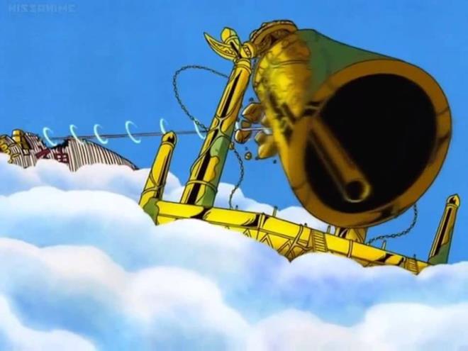 One Piece la sconfitta di Ener