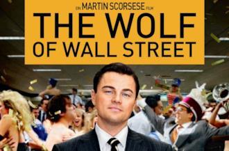 The Wolf of Wall Street copertina
