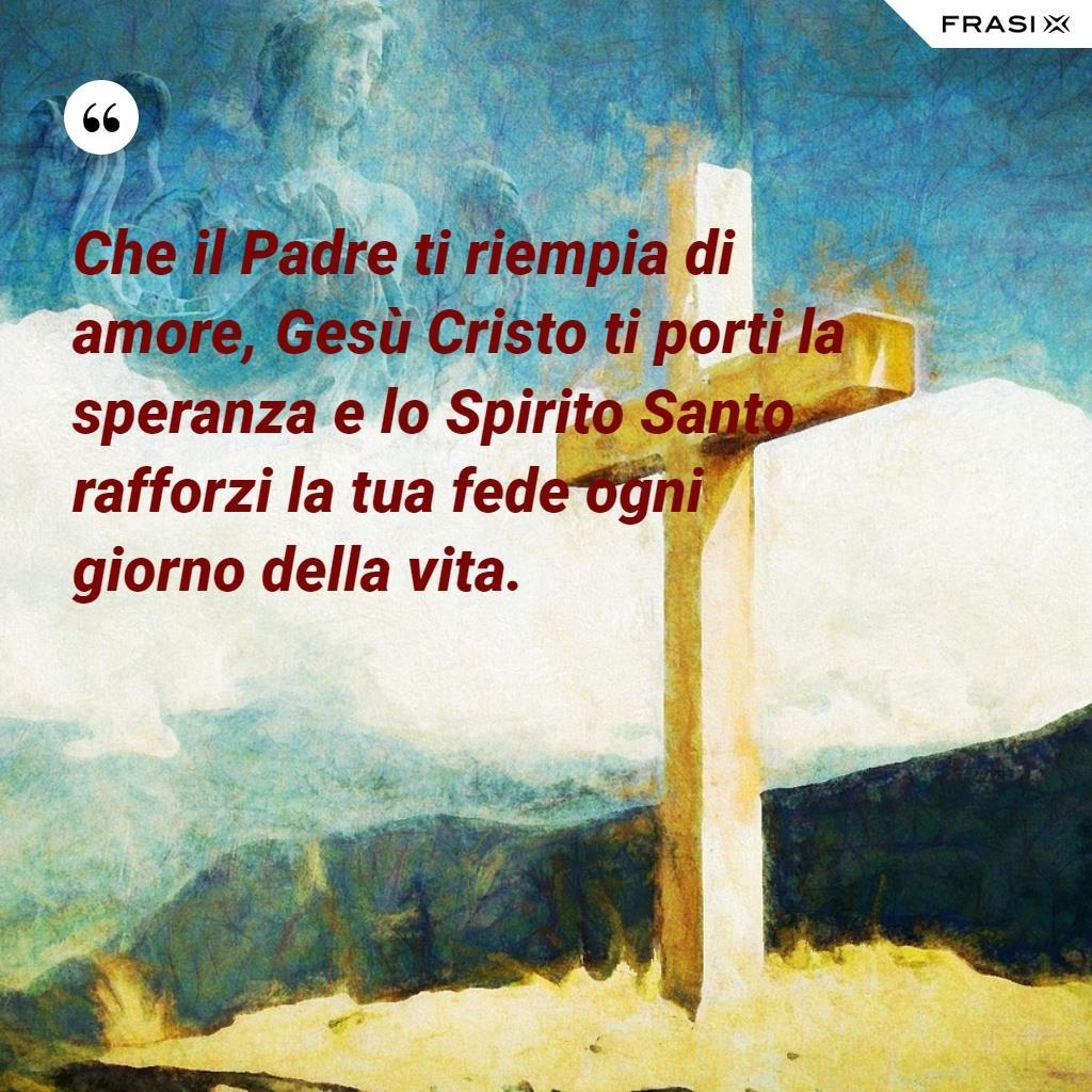 Immagine per la Santa Cresima con citazione religiosa