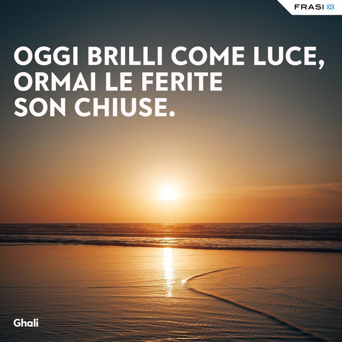 Frasi rap in italiano amore finito Ghali