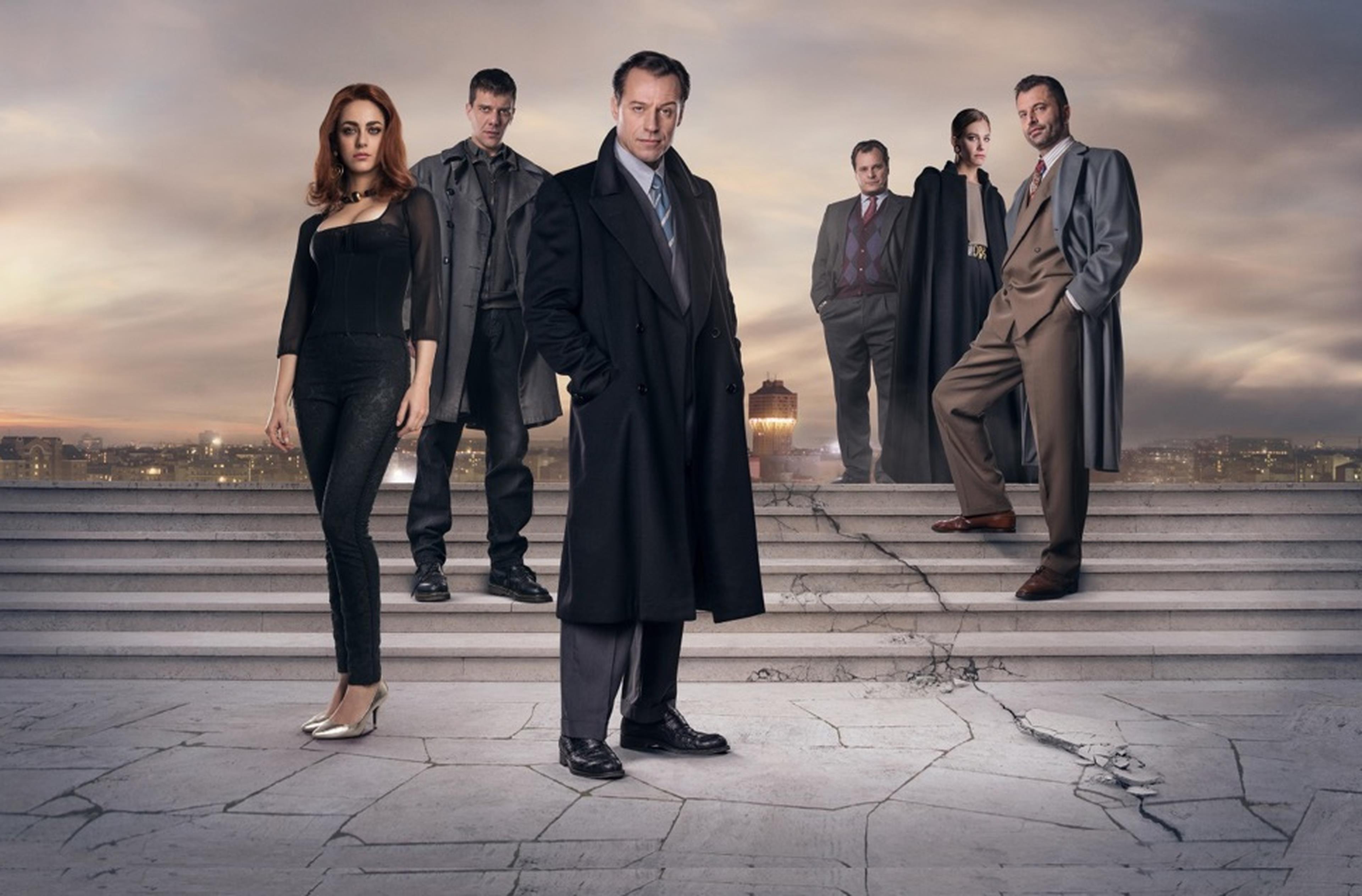Poster con i personaggi della serie tv