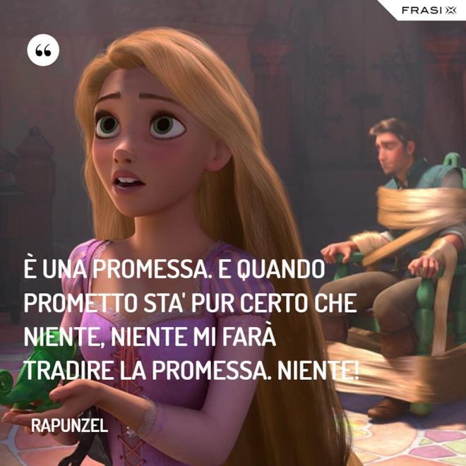 Immagine con frasi di Rapunzel