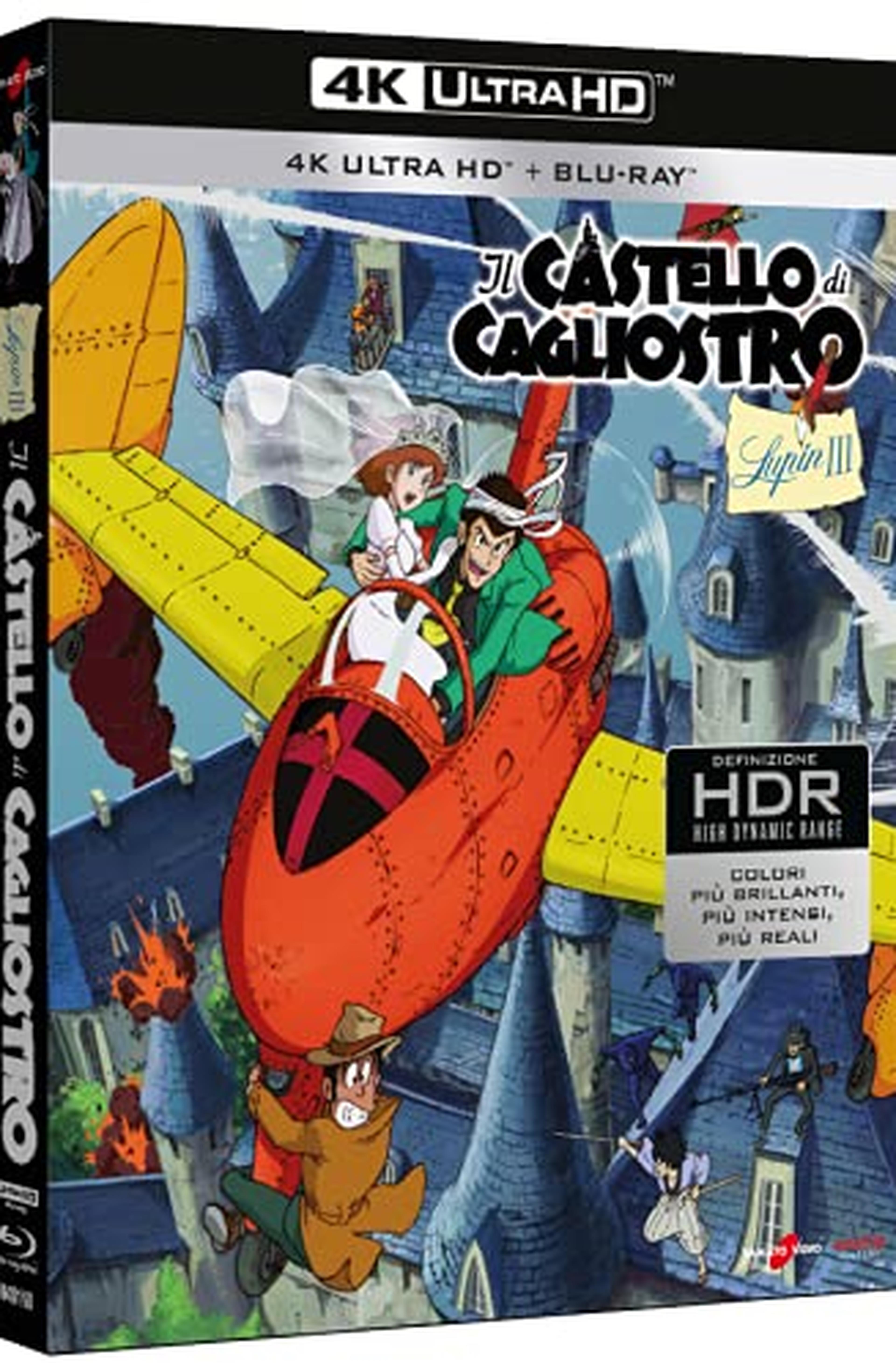 Lupin III - Il Castello Di Cagliostro (Edizione Limitata 4K UHD + Blu-ray + Card) (Limited Edition) (2 Blu Ray)