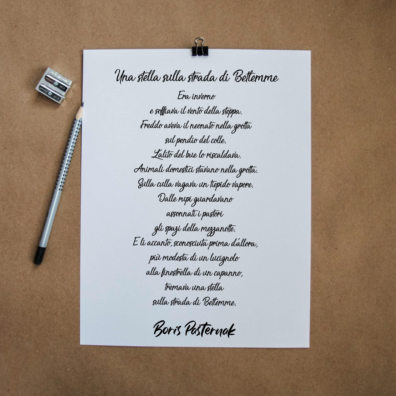 Poesia di Natale di Boris Pasternak