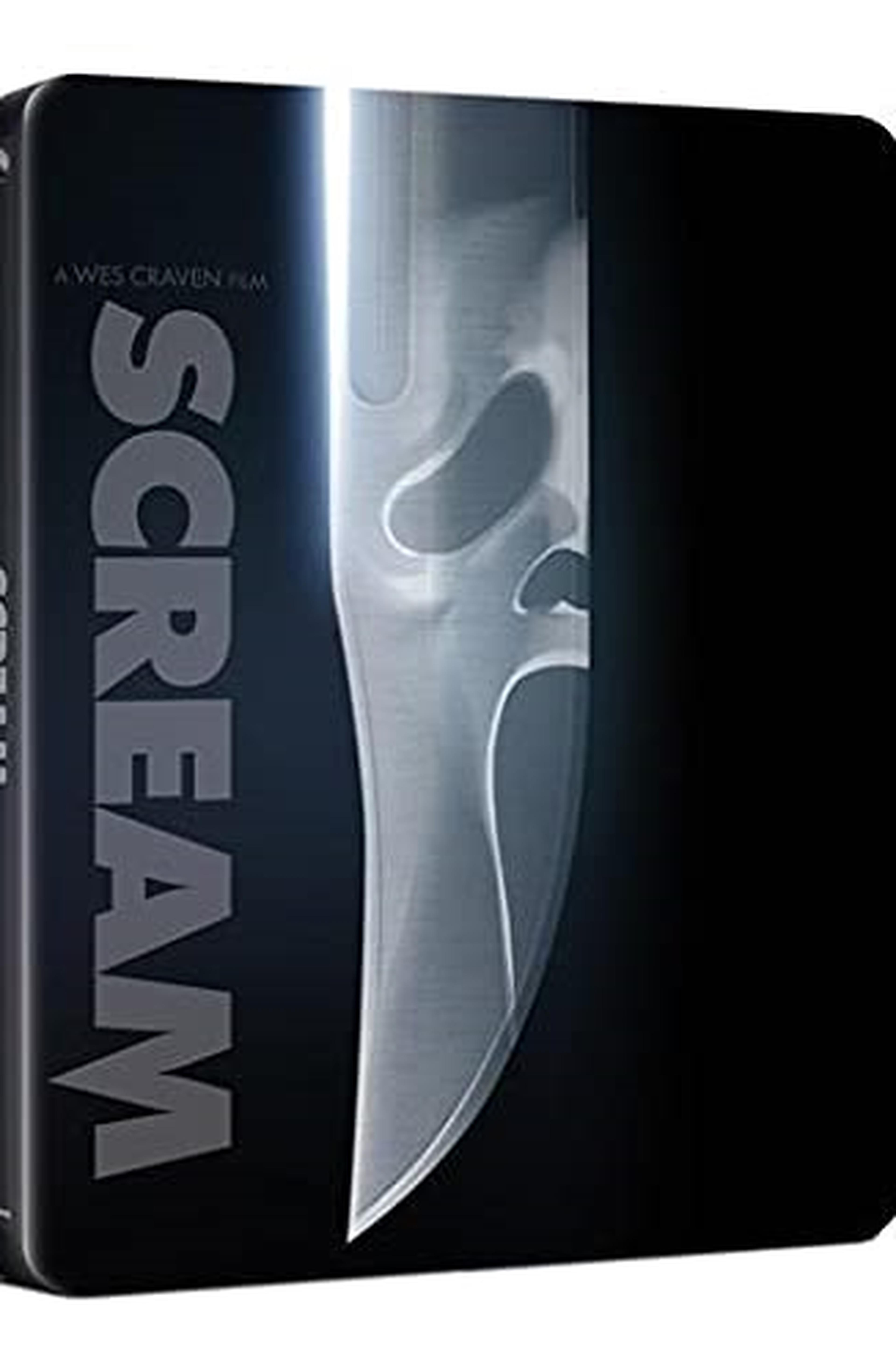 Scream (Steelbook 4K UHD + Blu-ray) (Limited Edition) (2 Blu Ray)