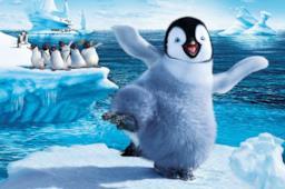Happy Feet, il pinguino protagonista del film