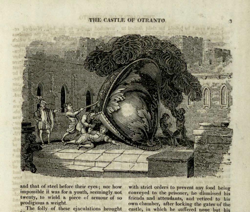 Illustrazione de Il castello di Otranto
