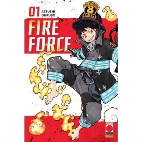 Fire Force N° 1 - Ristampa - Planet Manga - Panini Comics - ITALIANO #MYCOMICS
