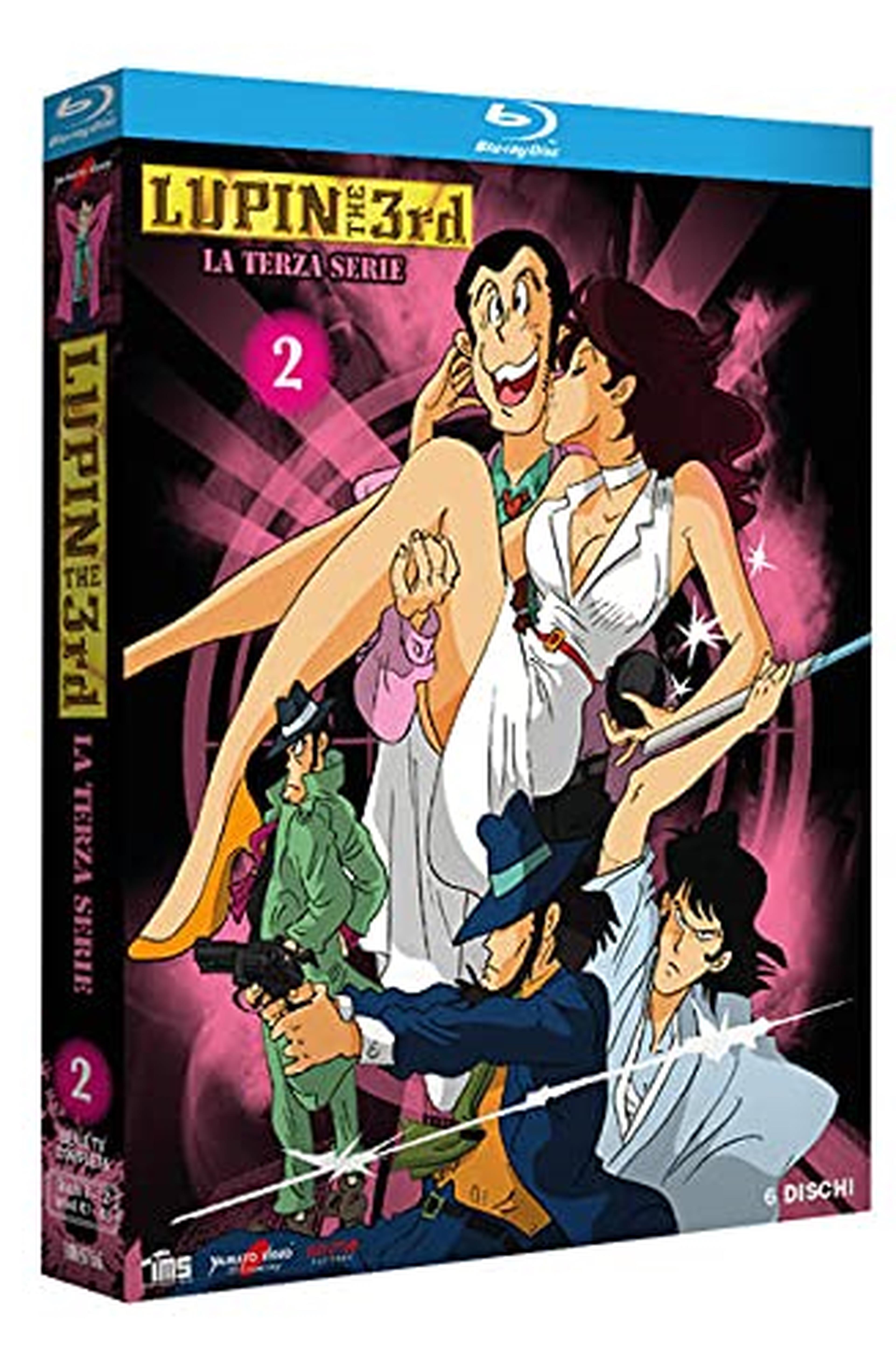 Lupin III - La Terza Serie Vol.2 (6 Blu-ray) (Limited Edition) (6 Blu Ray)