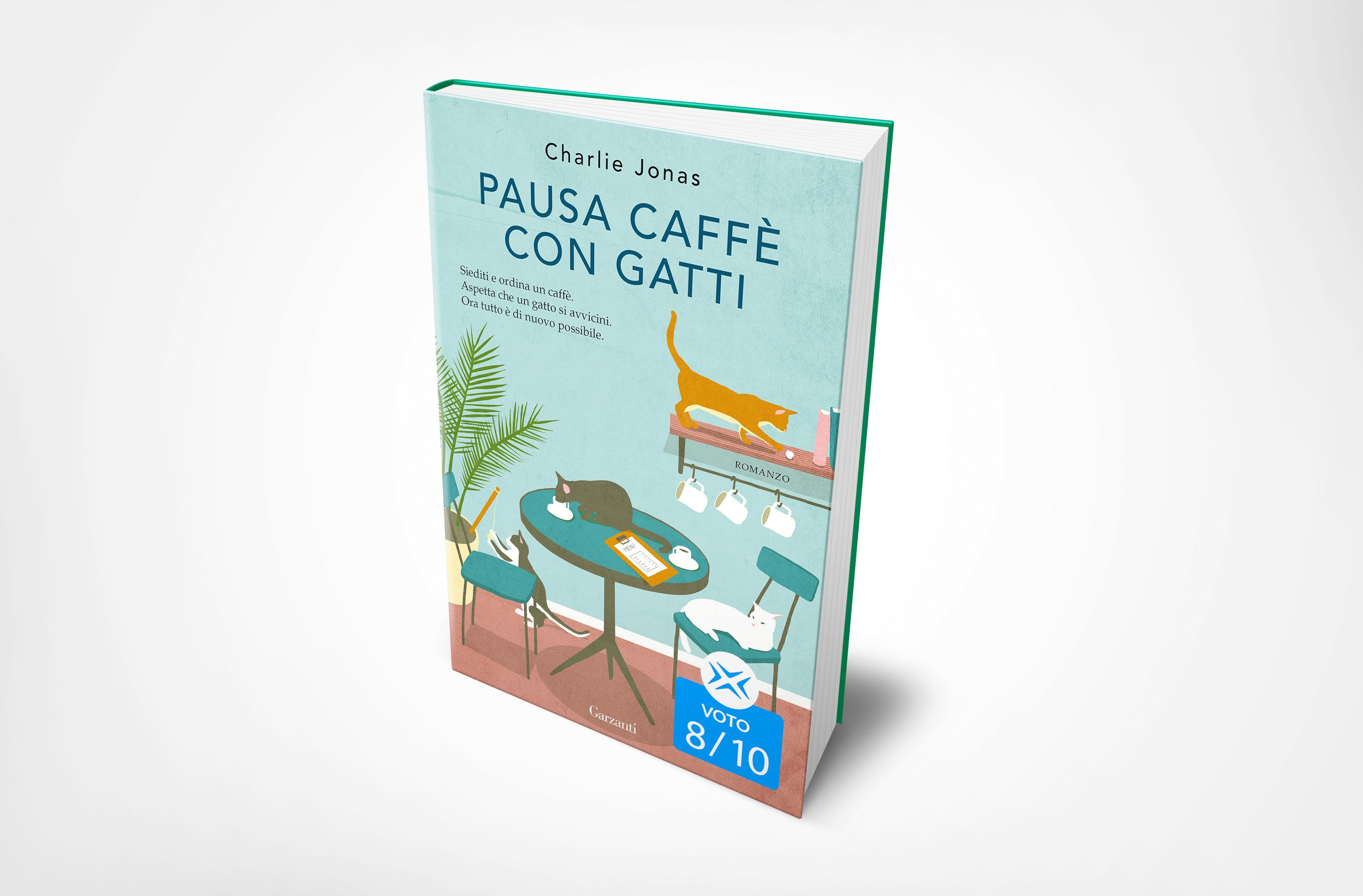 Copertina di Pausa caffè con gatti