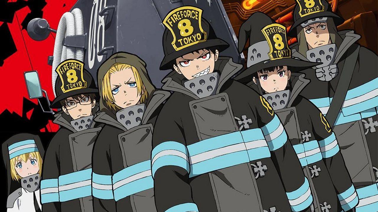 Fire Force personaggi